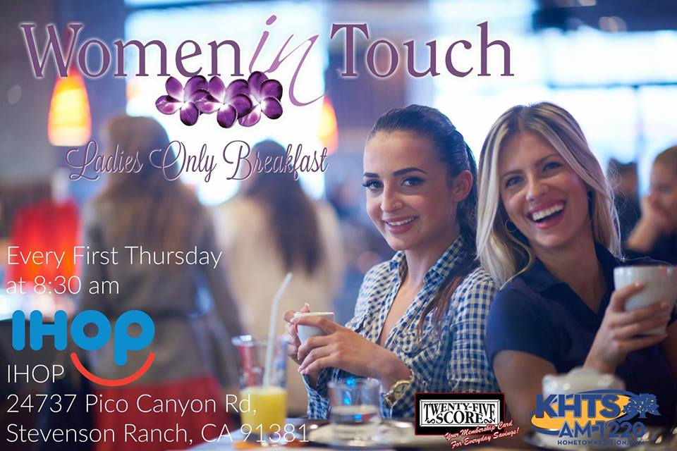 Women In Touch SCV December Networking Breakfast