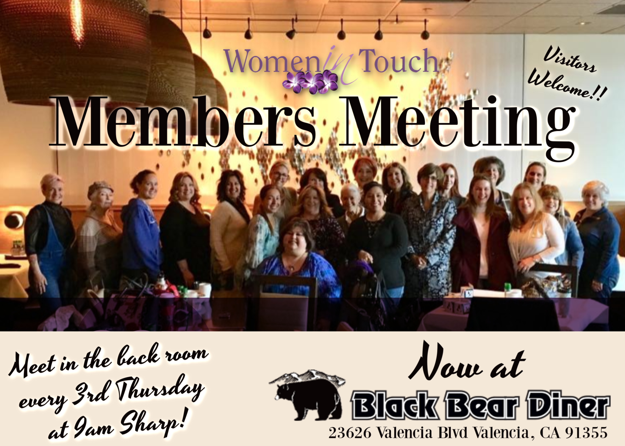 Women in Touch Members - SCV NOV Meeting - Visitors Welcome!